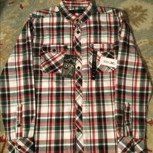 NWT Jordan Craig Men's Flannel Shirt Size Large